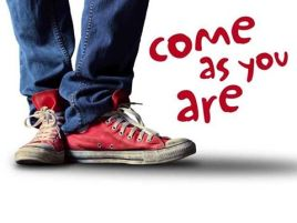 come as you are for website
